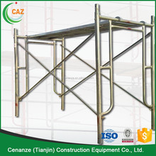 1219*1930mm H-frame mobile scaffold /scaffolding frame systerm