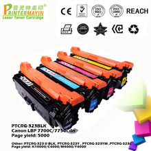 Toner Import TOP Laser Toner Cartridge FOR USE IN Canon LBP 7700C/7750Cdn (PTCRG-323BLK)