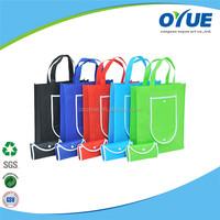 OEM Cheap Reusable recyclable non-woven shopping bag folding