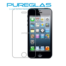 OEM & ODM mobile phone security tempered glass screen protector for iphone 4 4s, Pureglas screen protector