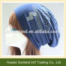 W-704 personalizado de moda unisex baggy beanie sombreros para gacho sombrero de los deportes