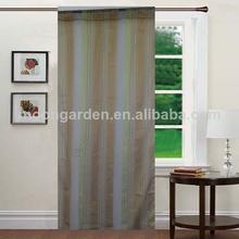 venta caliente blanco y raya organge listo hecho luxuy turco cortinas