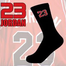 No.23 alta calidad calcetines del balompié del baloncesto toalla calcetines hombres y mujeres calcetines deportivos calcetines más resistentes al desgaste transpirable perspiratio