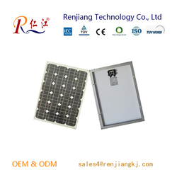 Best Price Per WATT Mono pv Solar Panels With Outlet 10w