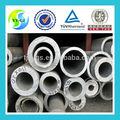 Venda quente em estoque espessura da parede do tubo de alumínio, tubo de alumínio quadrado 6082