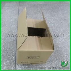 dongguan supplier hot sale kraft corrugated shipping box wholesale