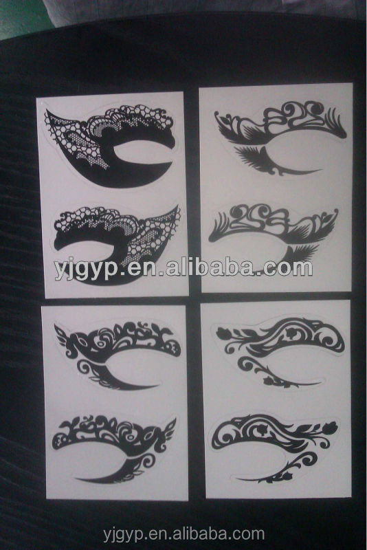 Hot Selling Promotional printed eye sticker for cosmetics