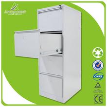 Metal steel 4 drawer hanging file cabinet office furniture used