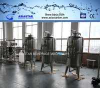Pure water treatment plant price with stable capacity 5MT/H