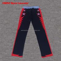 100%polyester sports men custom sweat pants
