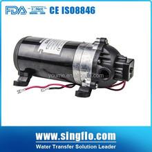 Singflo 160psi 12v dc high pressure water pumps price/12v diaphragm pump