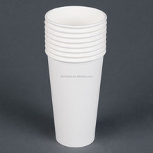 pe coated paper cup blank from 4oz -12oz for hot drink with lid