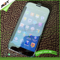 Newest Clear View Smart Cover Flip Leather Mirror Cell Phone Case for iPhone 6 6Plus