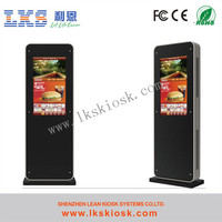 LKS shopping mall information kiosk terminal with big touchscreen