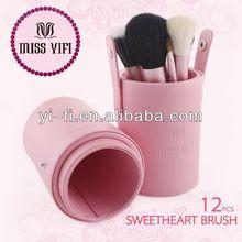 Brand!Miss yifi Barrel brush,wholesale fan makeup brushes