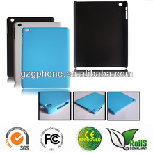 PC hard rubber back case for ipad mini