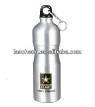 cool design portable army water bottle