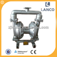 Lanco brand QBY2-40 air operated double Pneumatic Diaphragm dilute dsodium hydroxide pump