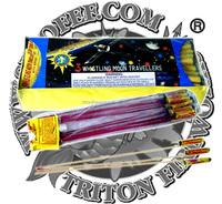 3 Whistling Moon Traveller Bottle Rocket/wholesale fireworks/UN0336 1.4G consumer fireworks/fireworks factory direct price