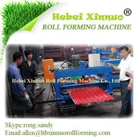 Non Soldering Shutter Door 720mm Roll Forming Cold Machine