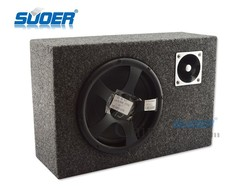 Suoer 8 Inch Square Subwoofer Carpet Surface 12V Subwoofer With High Quality & Factory Price
