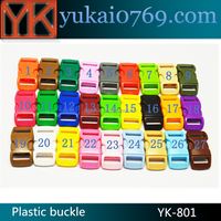 "Wholesale 3/8 paracord buckle,colorful 3/8"" plastic side release buckle"