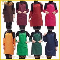 Promotional snap front cobbler apron With Logo/snap front cobbler apron /Customized snap front cobbler apron