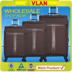 Cheap price high quality durable cabin size trolley bag made in Guangzhou factory
