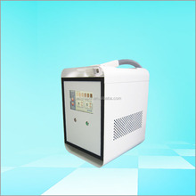Portable skin contact cooling diode laser hair removal