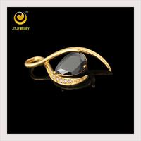 direct wholesale costume christmas gift jewelry gold jewelry gem stone pendant
