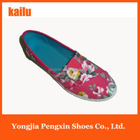 cheap printing shoes for woman casual shoes