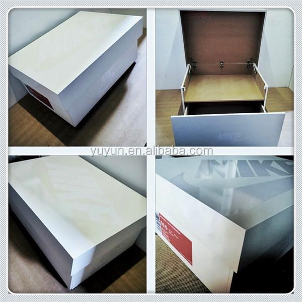 Diy Jordan Shoe Box Storage  Diy build a giant large wood jordan shoe box for & Diy Jordan Shoe Box Storage: Awesome sneaker storage solution ...