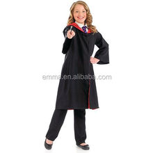 New coming Adult & Children Harry Potter Hogwarts Tie Glasses Wand Cape Cloak Robe Costume BC2473