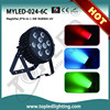 Changeable and colorful 9*6W/24*3W/108LEDs/18*6 60W RGBWA-UV led dancing floor flood light beam light