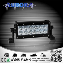 Auto Lighting System 6'' 36W dual row 4wd led spot light