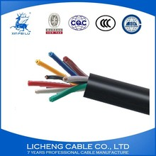 450/750V Best Quality Braided Shield Wire PVC Insulated PVC Sheathed Cable Wire---KVVP5x0.75mm2