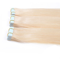 wholesale 18-24 inch virgin brazilian human tape hair extension