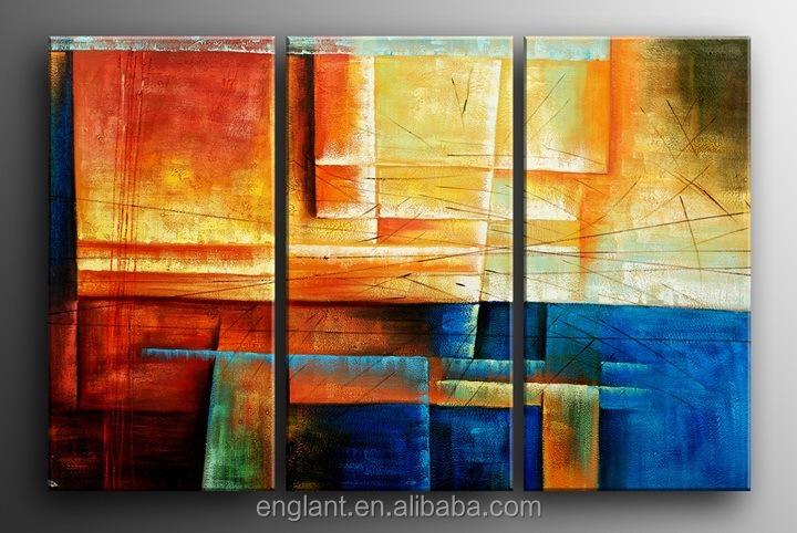 Wohnzimmer und Kamin moderne bilder fürs wohnzimmer : dekoratives triptychon moderne wandbilder für wohnzimmer-Malerei ...