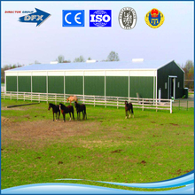 Low cost industrial shed designs light steel prefabricated stable