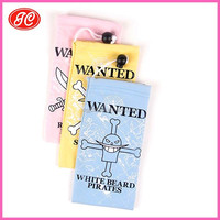 Microfiber pouch with customized print for promotion