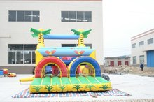 New style customized adventure rush inflatable obstacle course