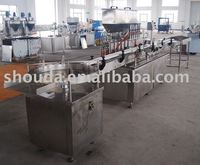 Automatic sauce/jam/paste/shampoo fillng line from Shanghai