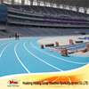 13mm prefabricated rubber athletic running track material for competition