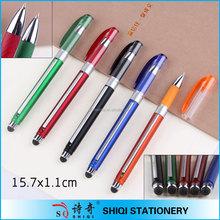 pen manufacturer new pull out flag ball pen