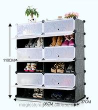 Buona qualità& impermeabile fai da te armadio di stoccaggio di plastica del pattino