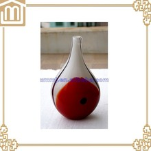 wholesale cheap glass cylinder vases in blue and other solid colors