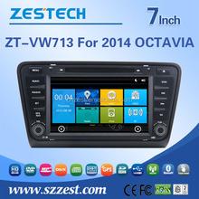 car radio for vw skoda octavia 2014 radio system with dvd gps navigation