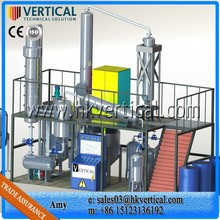 used lubricants oil recycling plant lube oil recycling system