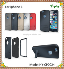 """For iphone 6 Stand Case 4.7"""" 3 in 1 Strong Box TPU + PC Hybrid Combo"""
