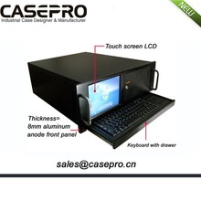 4u Chassis Rackmount touch screen and keyboard